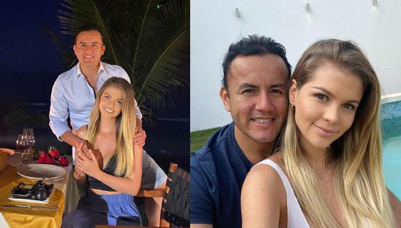 Brunella Horna y Richard Acuña retornaron a Trujillo. (Instagram)