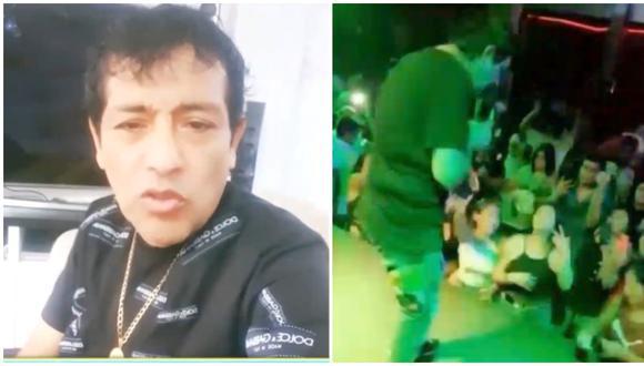 'Toño' Centella realizó 'privadito' en Puerto Maldonado pese a la cuarentena. (Fotos: Captura ATV)