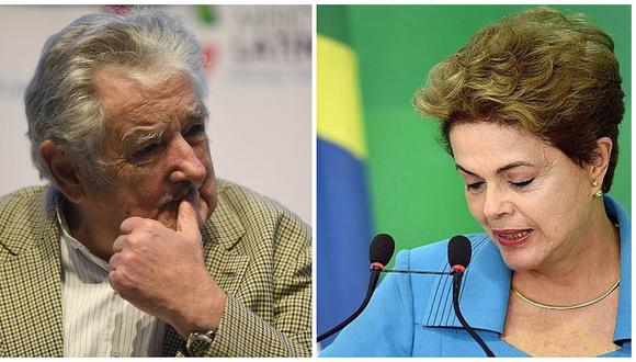 """José Mujica dice que proceso contra Dilma Rousseff """"parece un golpe"""" pese a su legalidad"""