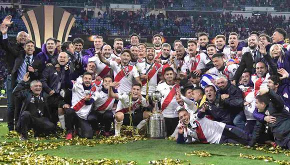 River Plate fue ratificado campeón de la Copa Libertadores 2018, después del fallo del TAS. (Foto: AFP)