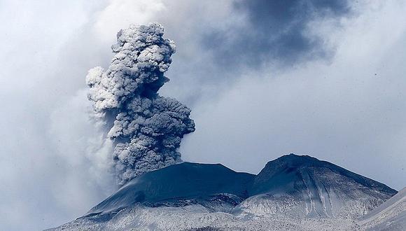Volcán Sabancaya presenta ligera deformación por ascenso de magma| Foto: Correo