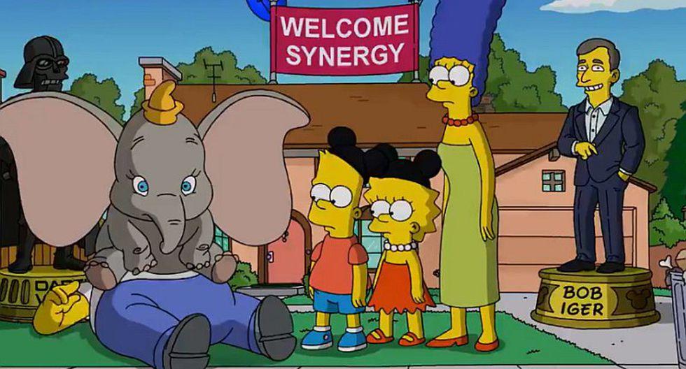 Los Simpson ya son parte de Disney y así lo demuestran (VIDEO)