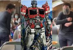 Transformers: Anthony Ramos se despide de Machu Picchu bailando con los saqras (VIDEO)