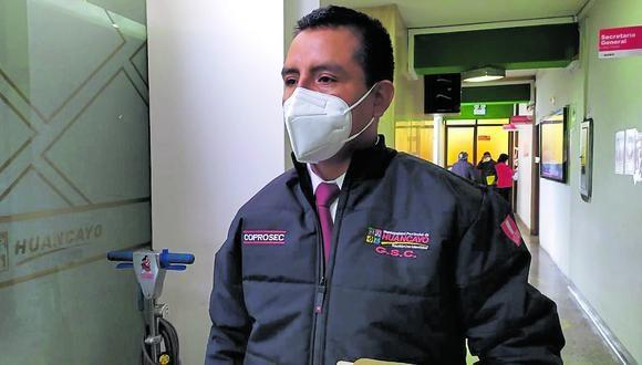 Orlando Alex Loardo Núñez, nuevo gerente de Seguridad Ciudadana