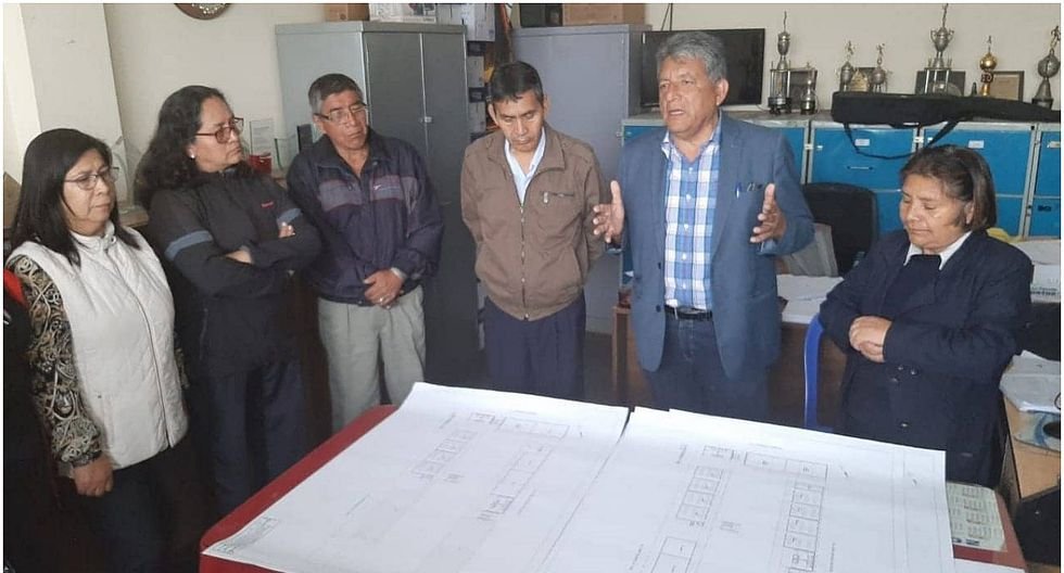 Elaboran expediente técnico para remodelar I.E. Leoncio Prado en El Porvenir
