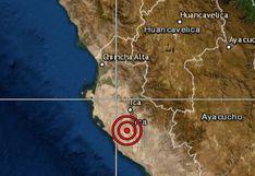 Ica: Temblor de magnitud 5.8 se registró esta noche en Chincha (FOTO)