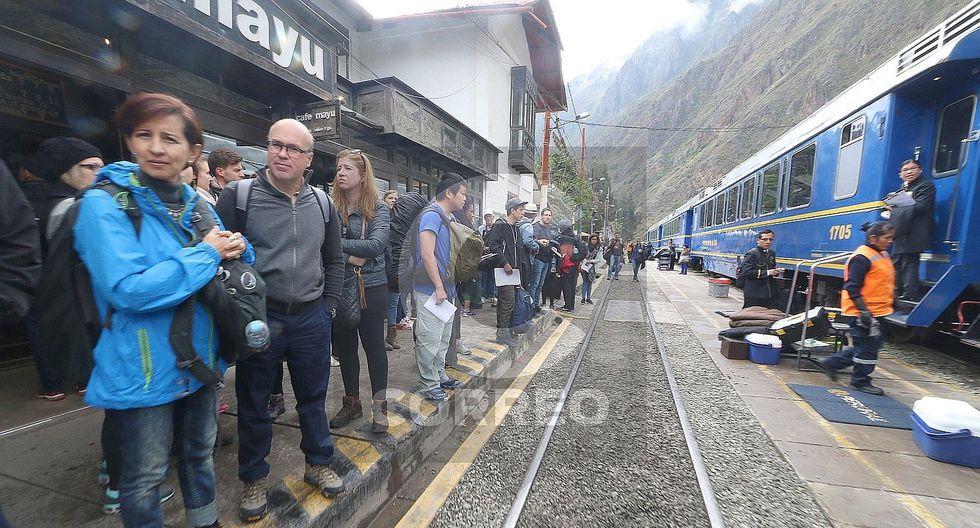 Suspenden servicio de tren Cusco - Machu Picchu por paro regional (FOTOS)