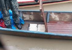 """Vraem: """"Narcos"""" se enfrentan a policía y abandonan bote con 200 kilos de droga"""