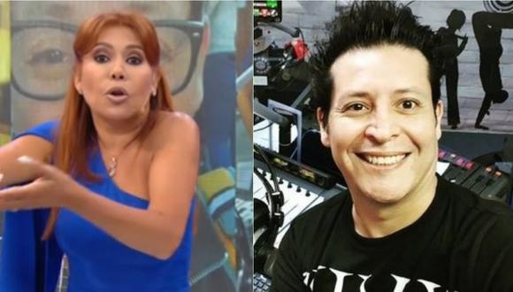 Magaly Medina no dudó en encarar a Carloncho por sus palabras contra Rosángela Espinoza. (Foto: Captura ATV/ Instagram)