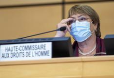 Bachelet expresa su preocupación por la situación de los Derechos Humanos en China