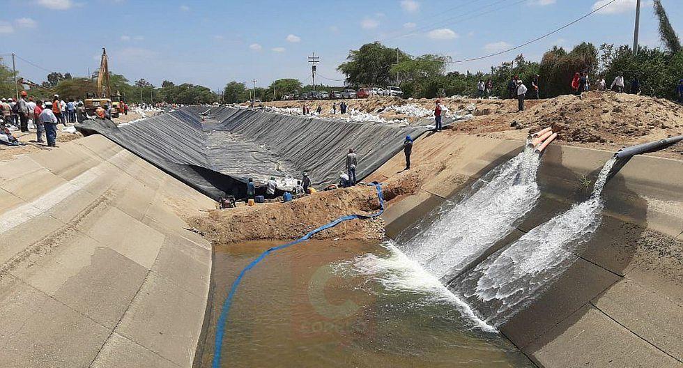 Mañana se restablece el servicio de agua potable en Piura y Sullana