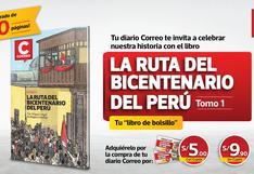 """Diario Correo trae el libro de bolsillo """"La Ruta del Bicentenario del Perú"""" a 5 soles"""