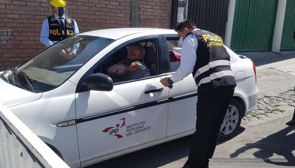 Trabajadores del IPD Arequipa fueron intervenidos por la Policía y la Fiscalía.