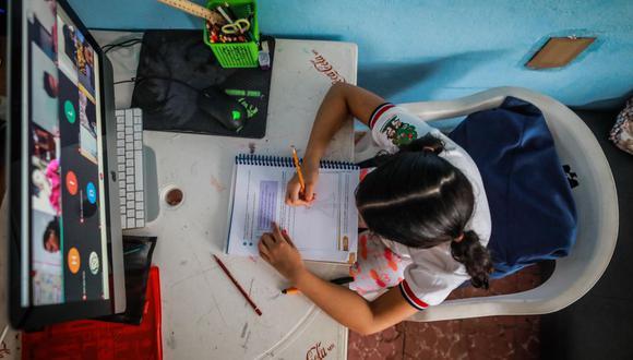 El confinamiento ha privado a los niños de una interacción directa con otros niños en los centros educativos. (Foto: EFE)