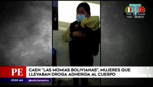 Detienen a banda criminal de mujeres que transportaba droga adherida a sus cuerpos
