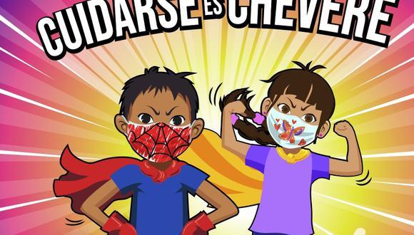 Cómic que promueve el uso de la mascarilla en niños ganó concurso de Innóvate Perú
