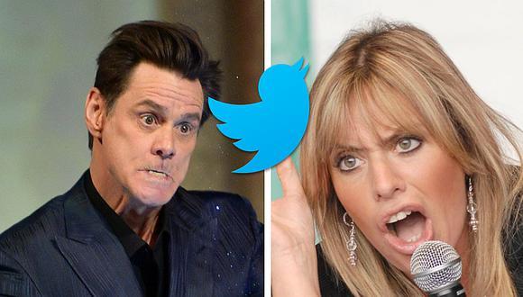 Jim Carrey publica un dibujo en Twitter sobre Mussolini, y la nieta del dictador reacciona insultándolo (FOTOS)