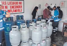Balón de gas baja hasta 12.50 soles en Piura