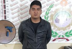 La Libertad: Policía lo detiene con un arma de fuego y municiones
