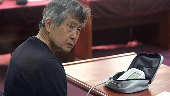 """Sala suspende juicio oral ante """"evidente"""" mala salud de Alberto Fujimori"""