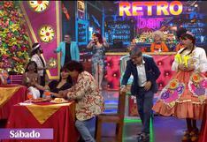 Manolo Rojas sufre aparatosa caída en el set de El Reventonazo de la Chola