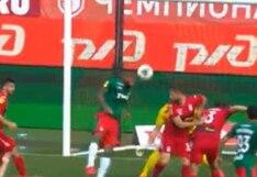 Fanáticos del Lokomotiv corearon el nombre de Farfán tras su primer gol de la temporada en Rusia (VIDEO)