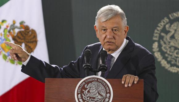 AMLO rechazó  que su política de austeridad sea una de las causas del accidente del metro  de Ciudad de México. (Foto: HERIKA MARTINEZ / AFP)