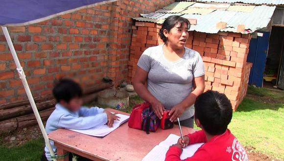 Junín: Escolares de inicial, primaria y secundaria no reciben clases de 'Aprendo en Casa' por falta de luz.