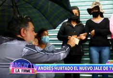 Andrés Hurtado regala dinero en México tras firmar para TV Azteca