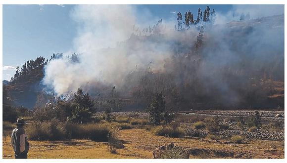 Áncash: reportan 40 incendios forestales durante el 2020 y cifra duplica a la del año pasado (Foto referencial)