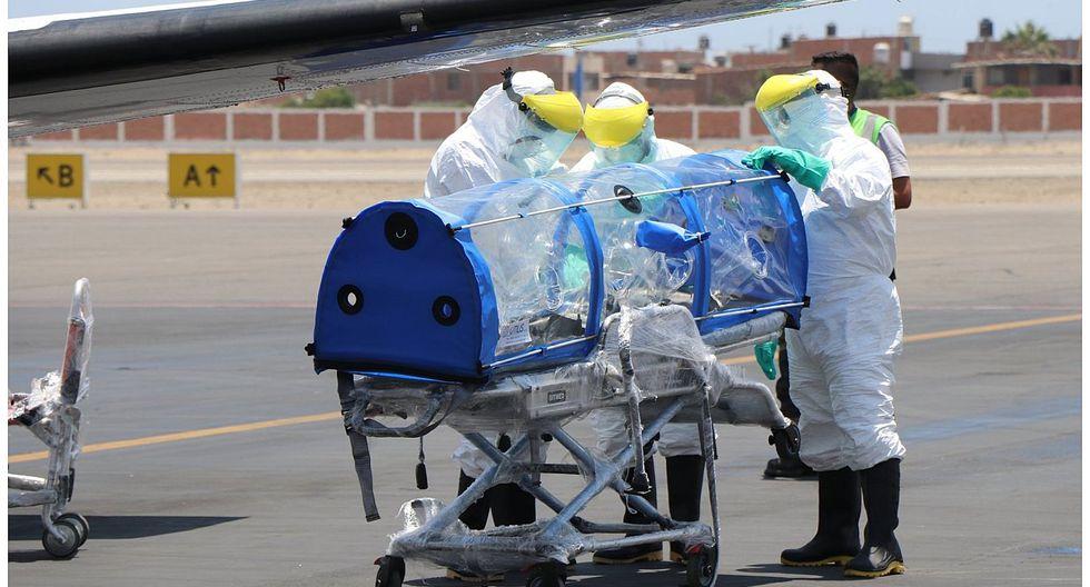 Coronavirus: Se elevan a 10 los casos en La Libertad