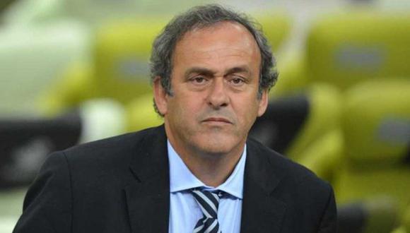 Conmebol califica de desproporcionada y extemporánea la suspensión a Michel Platini