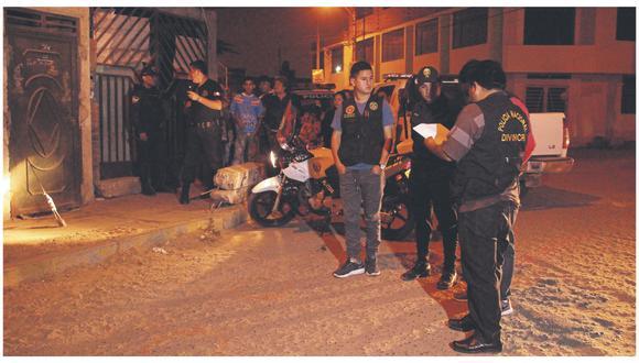 """La Policía informa que """"Gordo Calín"""", integrante de """"La Jauría"""", fue herido de un balazo por miembros de """"Lucho Cartero""""."""