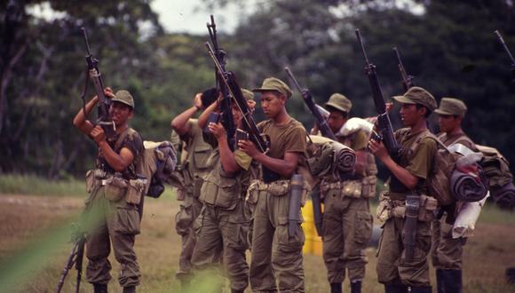 Comando Conjunto conmemoró los 26 años de la guerra del Cenepa (Foto: archivo GEC)