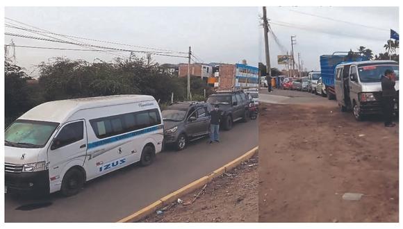 Denuncian que conductores venden fila a S/200 para ingresar al Vacunacar. Geresa solicita apoyo a la Policía.