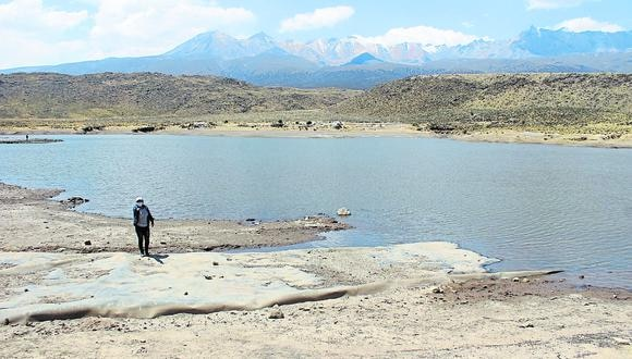 El almacenamiento de agua en la represa permite cultivar productos en 20 hectáreas del distrito de Characato