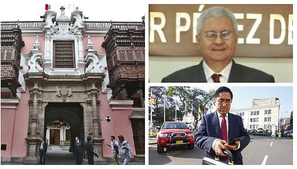 Cancillería abre investigación contra diplomático César Bustamante acusado de haber ayudado a César Hinostroza