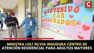 Ministerio de la Mujer inaugura Centro de Atención Residencial para adultos mayores