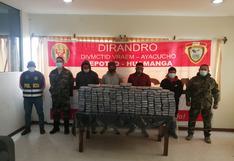 Intervienen camión que venía del VRAEM y hallan 164 paquetes de droga camuflados (VIDEO)