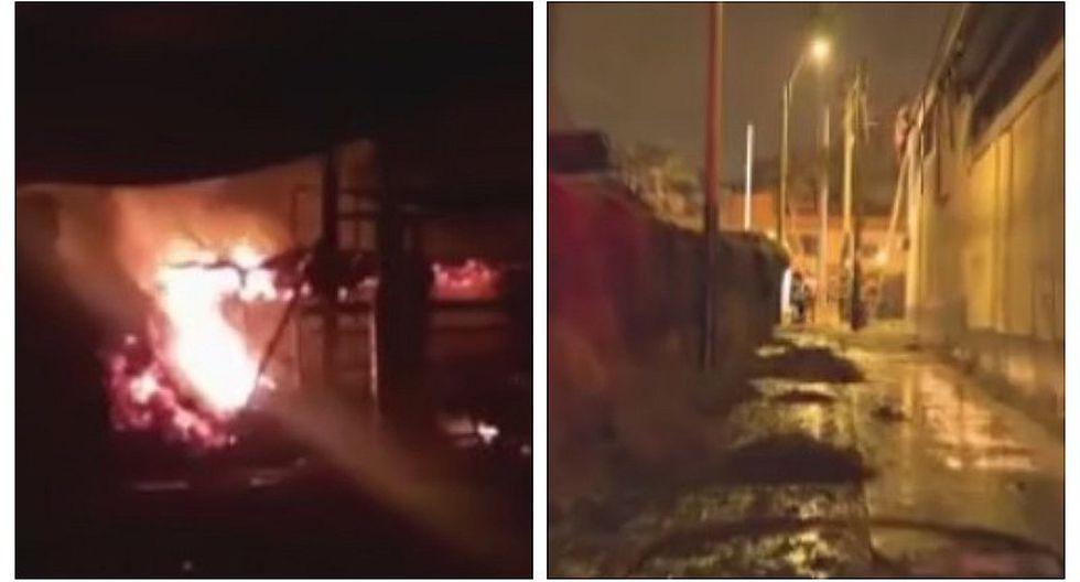 Surco: Controlan incendio en terreno de la FAP en San Roque (VIDEO)