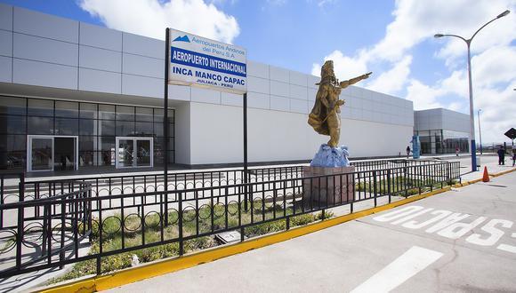 Aeropuerto de Juliaca registrará incremento de 14% en flujo de viajeros