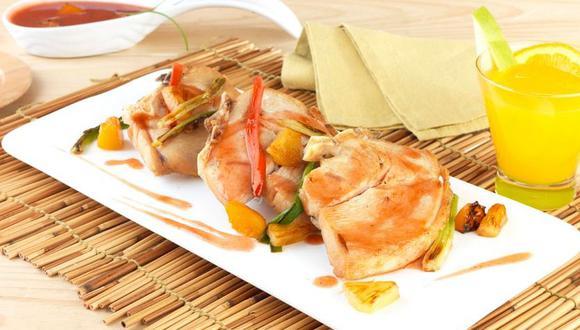Esta deliciosa receta también lleva pimientos y piña. (Foto: San Fernando)