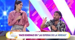 """Yaco Eskenazi sobre Natalie Vértiz: """"Solo llega a la T de tóxica"""""""