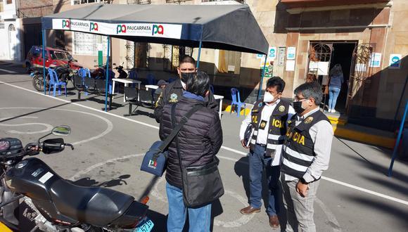 Procurador se trasladaba en un vehículo de la Municipalidad de Paucarpata