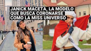Miss Universo: conoce un poco más de Janick Maceta, la peruana que busca suceder aZozibini Tunzi