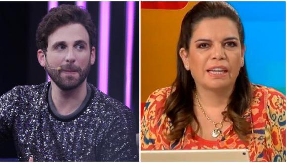 """Rodrigo González llama """"mosquita muerta del periodismo"""" a Milagros Leiva."""