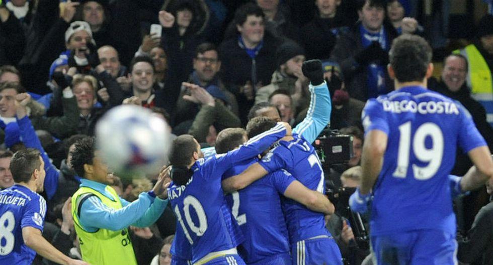 Capital One Cup: Chelsea venció 1-0 al Liverpool y es el finalista