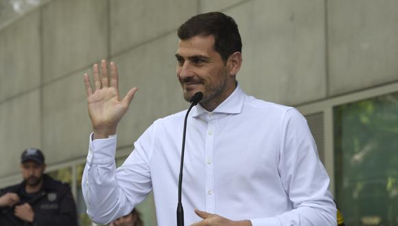 Iker Casillas postulará como presidente de la Real Federación española de Fútbol. (Foto: AFP)