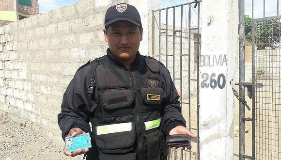 Tacna: Una billetera con 57 soles devuelven serenos a abogado