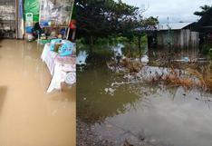 Más de 70 viviendas quedan inundadas por desborde de río Santa Martha en Huánuco